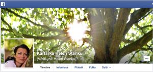 Kontakt, kartářka Helen Stanku
